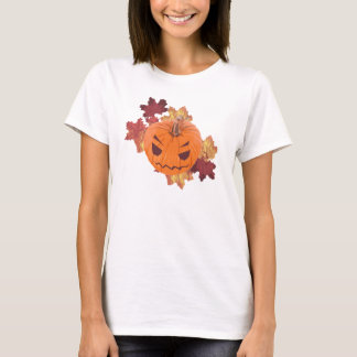 Camisa linda de la calabaza de Kawaii Halloween