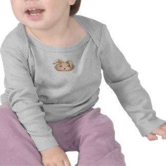 Camisa linda de la gota del conejito para el bebé