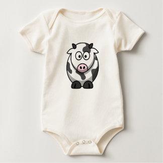 Camisa linda de la vaca