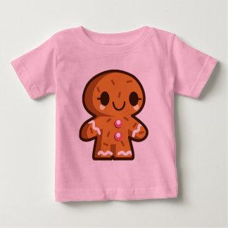 Camisa linda de los bebés del navidad del hombre