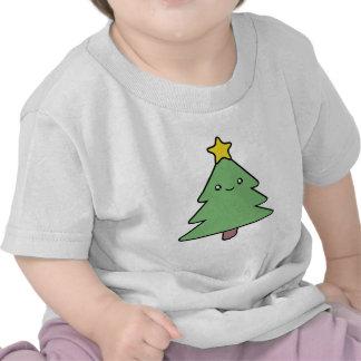 Camisa linda del árbol de navidad