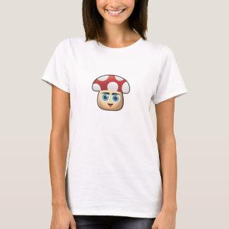 Camisa linda del chica de la seta