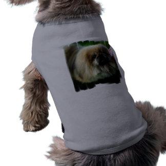 Camisa linda del mascota de Pekingese Ropa Perro