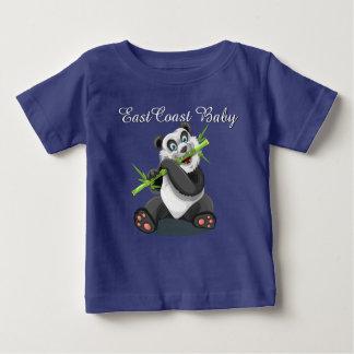 Camisa linda del oso de panda del bebé de la costa
