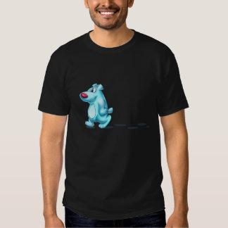 camisa linda del oso polar
