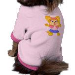 Camisa linda del perro de Teakup Yorkie Ropa Macota
