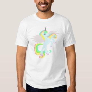 ¡Camisa linda del UNICORNIO del arco iris! Poleras