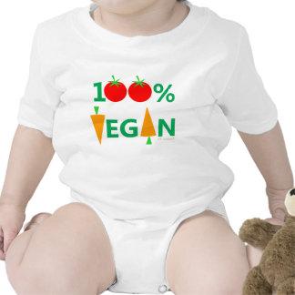 Camisa linda del vegano del bebé