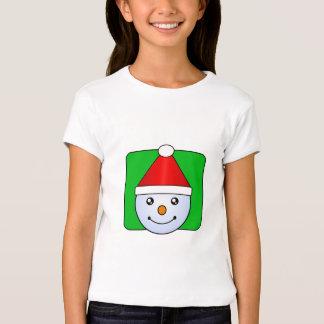 Camisa linda estupenda del individuo de la nieve