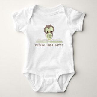 Camisa linda neutral del búho del bebé futuro del