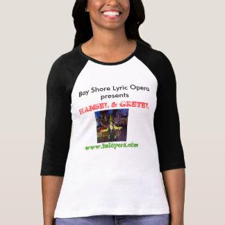 Camisa lírica de la ópera Hansel y de Gretel de la
