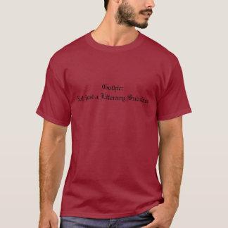 Camisa lista del gótico