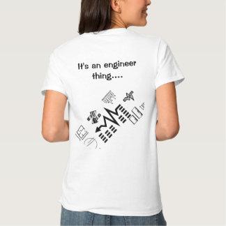 {Camisa llana de la luz del ingeniero audio} Camisas