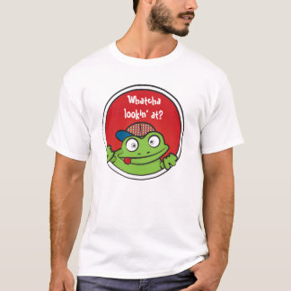 Camisa loca de la rana
