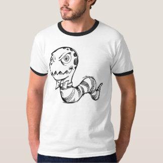 Camisa loca insana del bosquejo del Doodle del