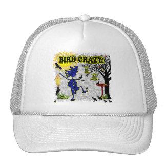 Camisa loca y más de la ropa del pájaro gorras