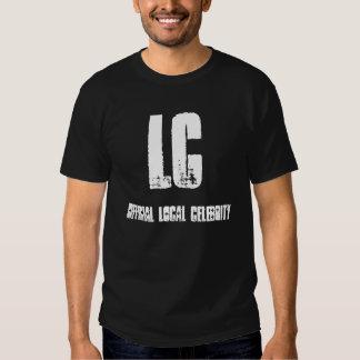 Camisa local de la celebridad del funcionario del