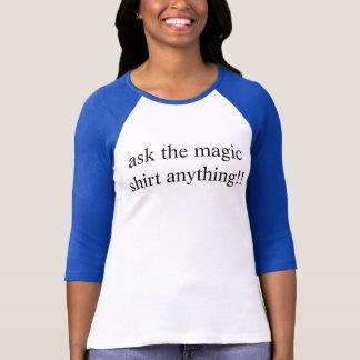 camisa mágica negativa