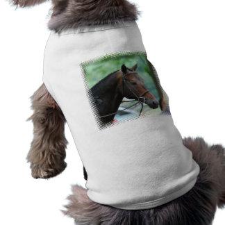 Camisa magnífica del mascota del caballo de Warmbl Playera Sin Mangas Para Perro