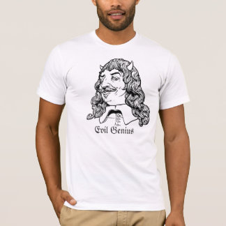 Camisa malvada del genio de Descartes