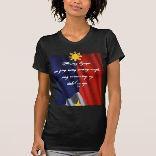 camisa mamatay del sayo del dahil del ng del ANG