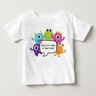 Camisa/mameluco personalizados - pequeño diseño playeras