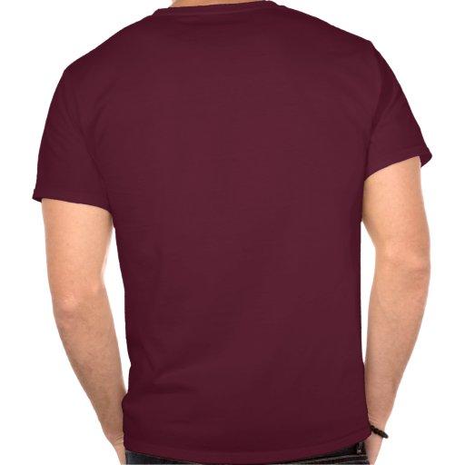 Camisa marrón y blanca de Julio César del sello