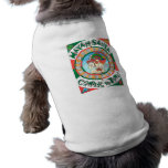 Camisa maya del perrito de Santa Ropa Para Mascota