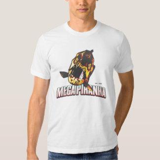 Camisa mega de la piraña - descolorada