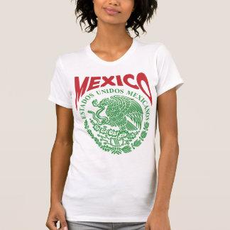 Camisa mexicana de las señoras - México Playera