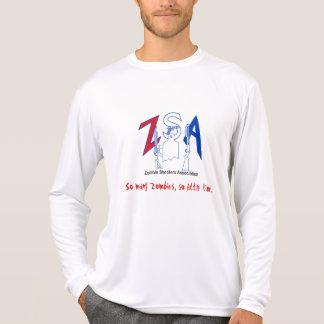 Camisa micro de la fibra del funcionamiento de ZSA