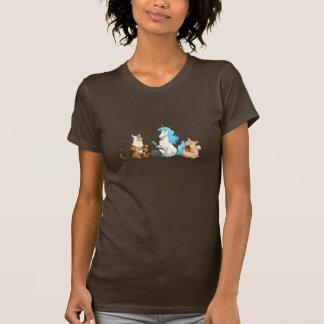 Camisa mitológica de la banda de jarro