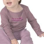 Camisa modelo del bebé