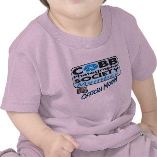 Camisa modelo oficial del bebé