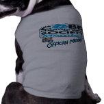 Camisa modelo oficial del perro de perrito camiseta de perrito