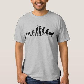 Camisa moderna de la evolución playera