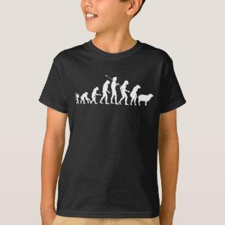 Camisa moderna de la evolución