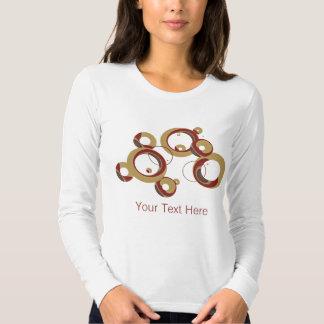 Camisa moderna de las burbujas - beige