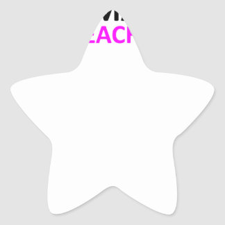 Camisa MS png de la voz del profesor Colcomanias Forma De Estrella Personalizadas
