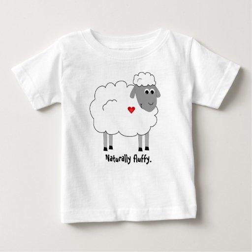 Camisa mullida de las ovejas