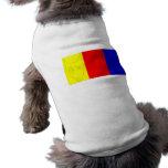 Camisa multicolora del perro de los terrieres camiseta de perro