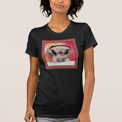 Camisa nacida del amante de la música