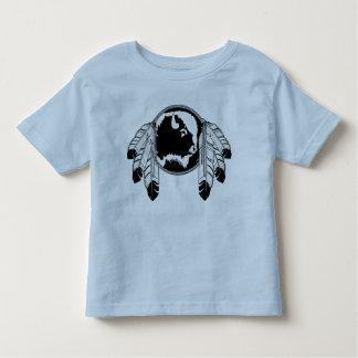 Camisa nativa del bebé del arte de la fauna de la