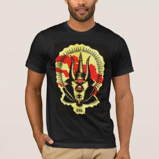 camisa negra de la cabra