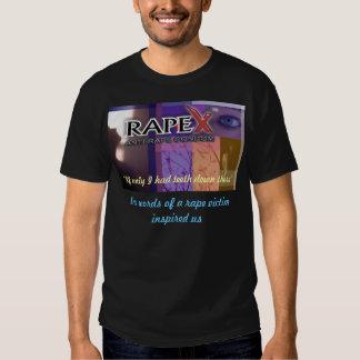 Camisa negra promocional de RapeX