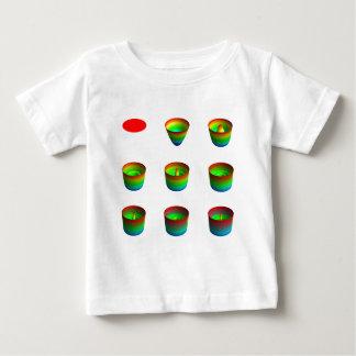 Camisa, niño, tabla, invariants rotatorios remera