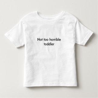 Camisa no demasiado horrible del niño - escoja su