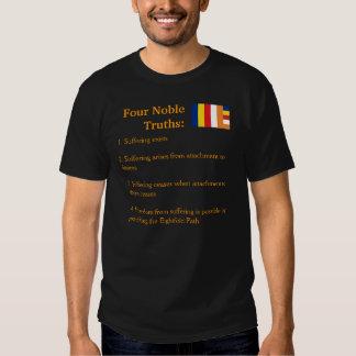 Camisa noble de cuatro verdades