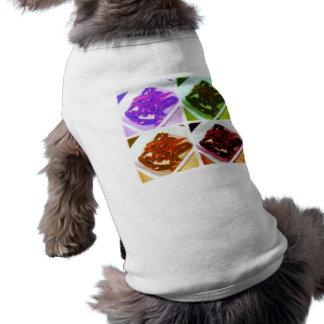 Camisa oficial del perro de la cocina del estudian playera sin mangas para perro