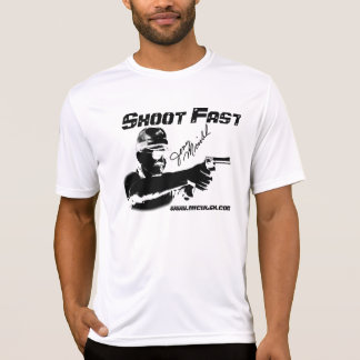 Camisa oficial del tiroteo del competidor de Jerry
